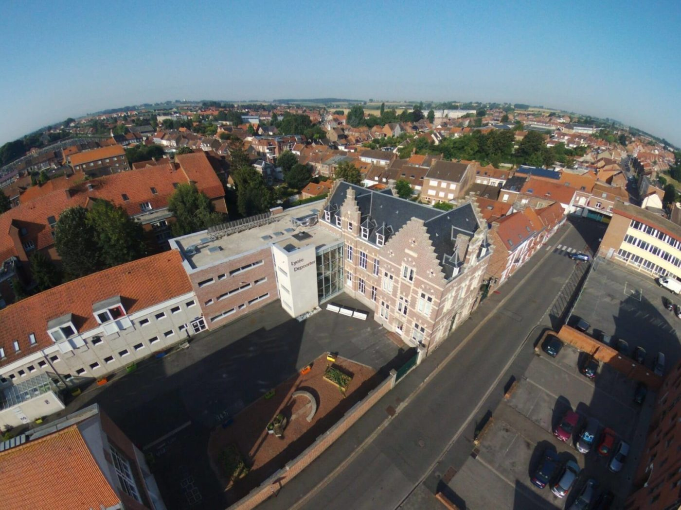 Couverture Ardoise Lycée Depoorter à Hazebrouck