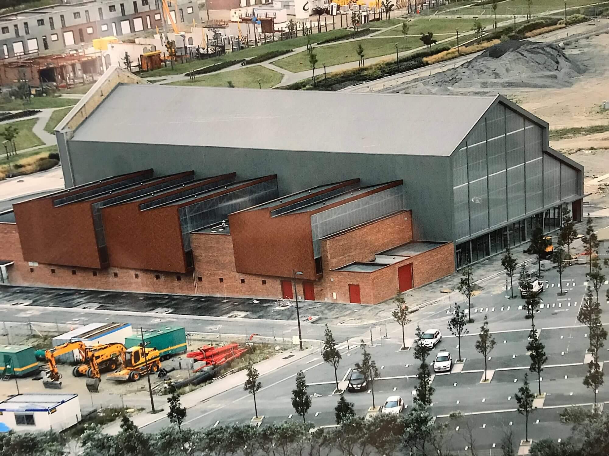 Couverture métallique et industrielle Salle de sport du grand large