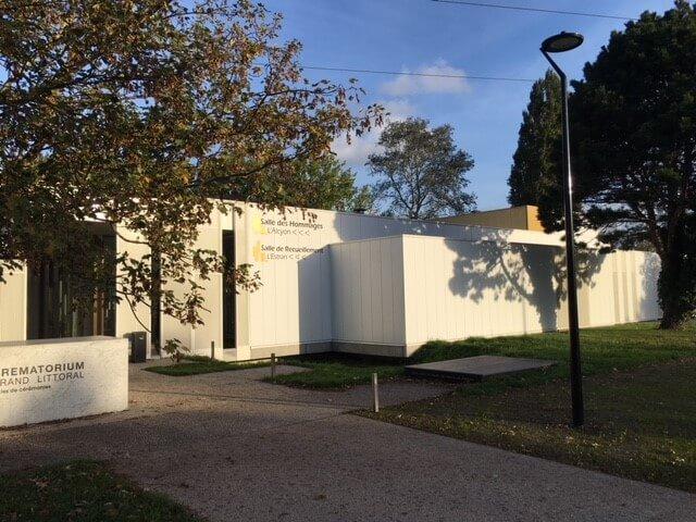 Badage crematorium de Dunkerque
